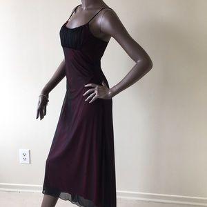 Long SMART SET Beautiful Pink/Black Dress